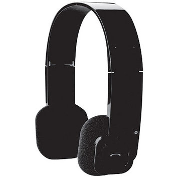 Audiovox Bthp1 Blk Bluetooth Headphone Stereo Built In Mic
