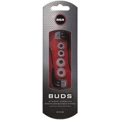 Rca Earphone - Stereo - Black - Mini-phone - Wired - 20 Hz 20 Khz - Earbud - Binaural - In-ear (hp161bk)
