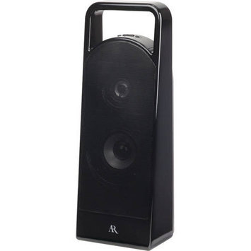 Acoustic Research As3bk Portable Bluetooth[r] Wireless Speaker With 3.5mm Aux Input