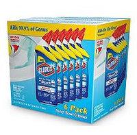 Clorox Toilet Bowl Cleaner, Value Pack, Rain Clean (6pk, 24oz. Bottles)