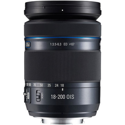 Samsung Movie Pro 18-200mm lens