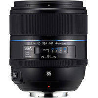Samsung 85mm f1.4 ED SSA iFunction Lens for NX Lens