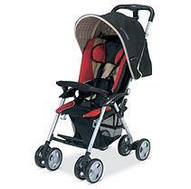 Combi International Combi Cosmo E Stroller - Red Chevron #zCL