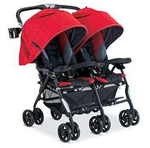 Combi Usa Combi Twin Cosmo Fashion Double Stroller - Red Red