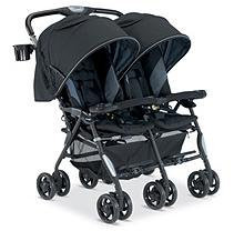 Combi Usa Combi Twin Cosmo Fashion Double Stroller - Black Black
