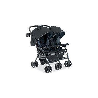 Combi Usa Combi Twin Cosmo Fashion Double Stroller - Black Black