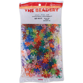 The Beadery 950V029 Sunburst Beads 18mm 270/Pkg