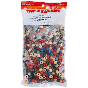 The Beadery 750V-076 Pony Beads 6x9mm 900/Pkg