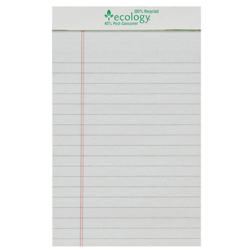 Pacon Creative Products Pacon 5 X 8 White Ecology Legal Pad 144 Sheets
