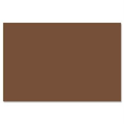Pacon Creative Products Pacon SunWorks Construction Paper, 58 lbs, 9 x 12, Dark Brown, 50