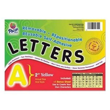 Pacon Creative Products PAC51652 - Pacon Colored Self-Adhesive Removable Letters