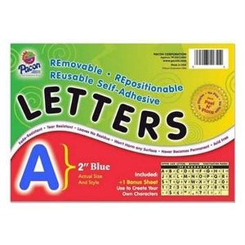 Pacon Creative Products PAC51653 - Pacon Colored Self-Adhesive Removable Letters