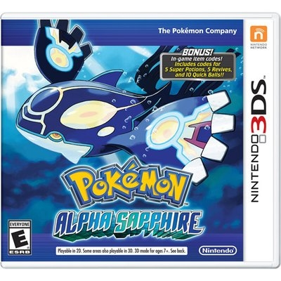Nintendo Pokmon Alpha Sapphire - Role Playing Game - Nintendo 3ds (ctrpwcl1)
