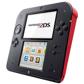 Nintendo 2DS Handheld Video Game System, Crimson Red
