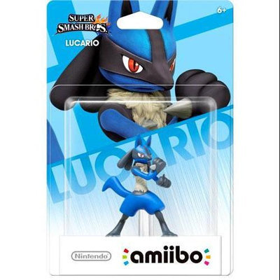 Nintendo amiibo - Character Figure - Lucario - Coming Feb. 6th