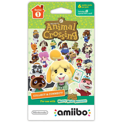 Nintendo - Amiibo Animal Crossing Cards (series 1) - Multi