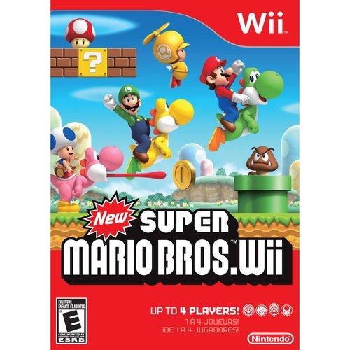Nintendo New Super Mario Bros. Wii - Rvlpsmne