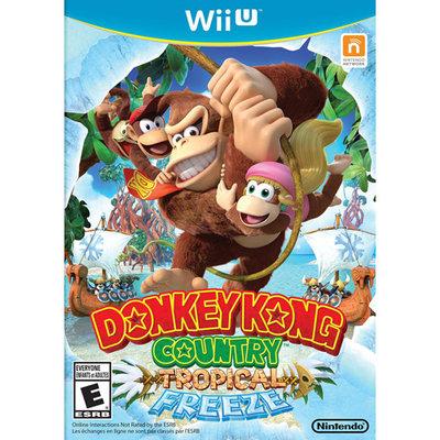 Nintendo Donkey Kong Country Tropical Freeze for Nintendo Wii U - NINTENDO OF AMERICA INC.