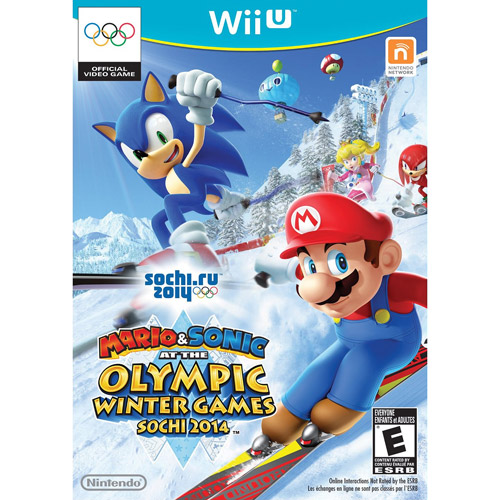 Nintendo Mario and Sonic at the Sochi 2014 Winter Olympic Games