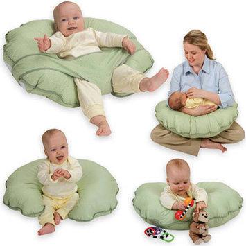 Leachco Cuddle-U Basic Nursing Pillow - Sage Pin Dot