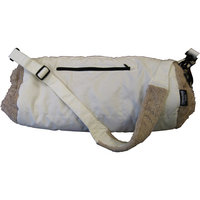 Grabber Ladies Hand Muff/Warmer/Fleece lined - White