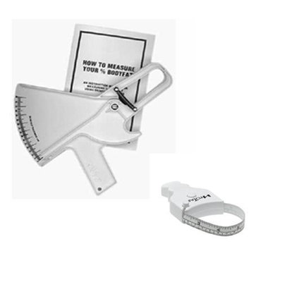 Slim Guide Skinfold Caliper With MT05 MyoTape Body Tape Measure