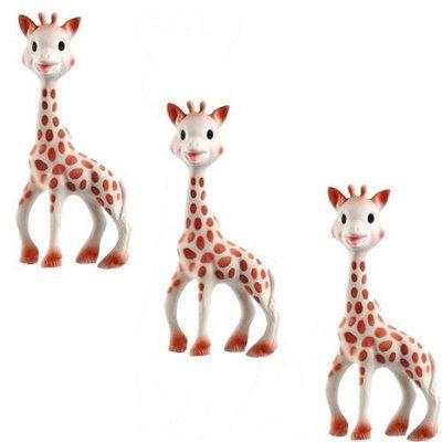 Vullie 616324-3 Sophie the Giraffe Teether (Set of 3!)