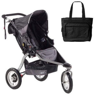 BOB ST1026 Revolution CE City Experience with Diaper Bag - Black