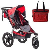 BOB ST1031 Stroller Strides Fitness Stroller with Diaper Bag - Red