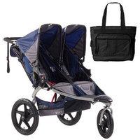 BOB ST1041 Revolution SE Duallie Stroller with Diaper Bag - Navy