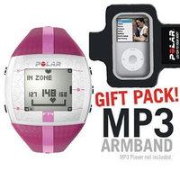 Polar FT4F 90042864 training computer purple pink with MP3 Armband