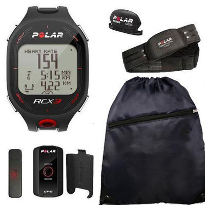 Polar 90042164 RCX3M GPS in Black with Cinch Bag