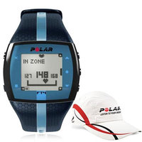 Polar FT4M 90047622 training computer - Blue with Polar Race Hat