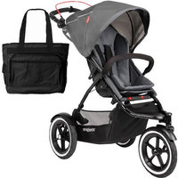 Phil & Teds NAV V1 12 200 USA Navigator Buggy Stroller with Diaper Bag - Golden Kiwi