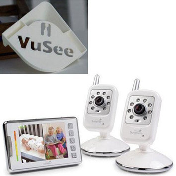 Summer Infant - Multi View Digital Color Video Monitor Set with Monitor Shelf