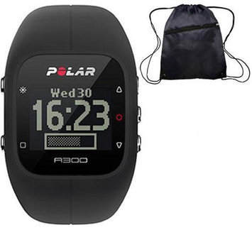 Polar - A300 Fitness and Activity Monitor w o HR with Bag - Black