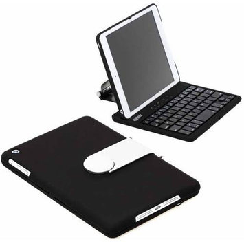 SHARKK Apple iPad Mini Bluetooth Keyboard Clamshell Case w/ 60 Hour Battery