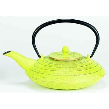 Old Dutch 033CG 27 oz Celery and Gold Cast Iron Serendipity Teapot