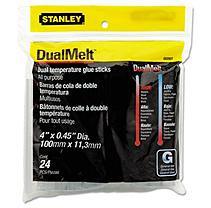 Stanley Bostitch GS20DT Dual Temperature Glue Sticks- 4 in Stick- 24/Pack