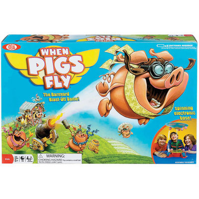Poof-slinky Ideal When Pigs Fly Game