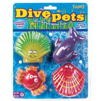 POOF-Slinky, Inc Dive Pets Pool Toy