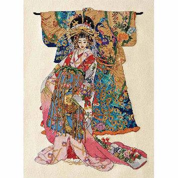 Bucilla Company Bucilla Heirloom Collection Kimono Geisha Counted Cross Stitch