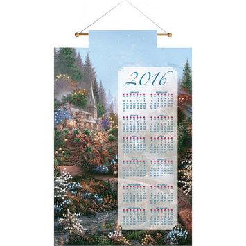 Bucilla Moonlight Grace 2016 Calendar Felt Applique Kit16inX24in
