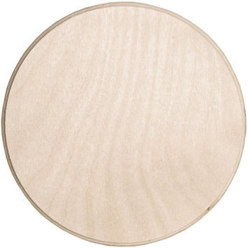 Walnut Hollow 349247 Baltic Birch Circle Plaque-6 in. x 6 in.