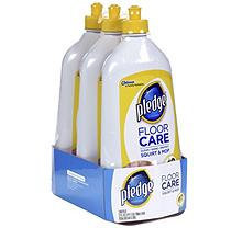 Pledge FloorCare Wood Squirt & Mop (27oz,3pk.)