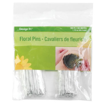 Floracraft RS966112 Floral Pins 1.75 in. 100-Pkg