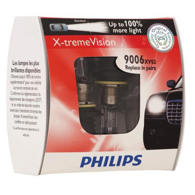 Philips 9006 (HB4) X-treme Vision Halogen Bulbs