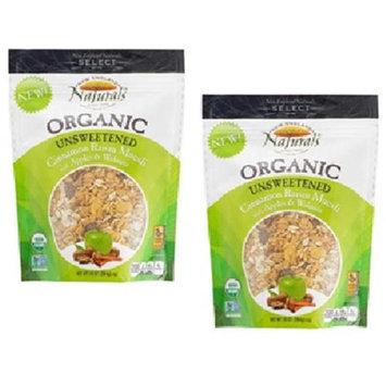 New England Naturals - Organic Granola Select Cinnamon Raisin Muesli - 10 oz.