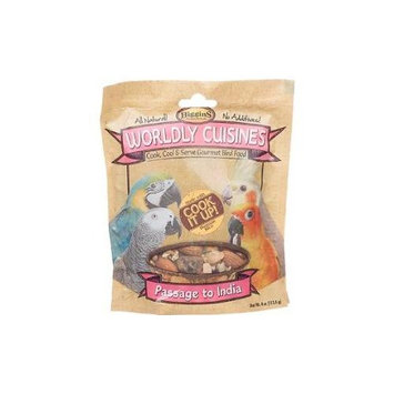 Higgins Worldly Cuisines India Cooked Bird Food 4oz