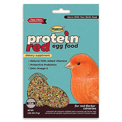 Higgins Pet Food HS32351 Protein Red Egg Food 5 Oz.